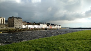 The Long Walk from the Claddagh, across the river